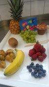 Schokofruchtspiess-Zutaten