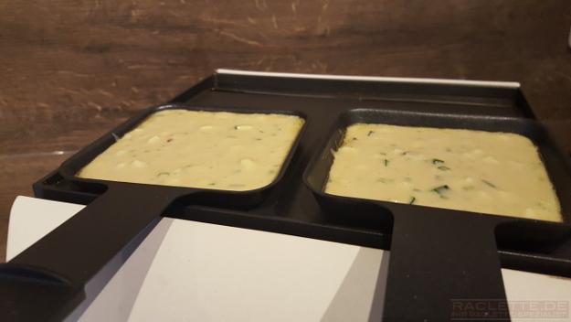 Curry-Zucchini-Waffel-Teig