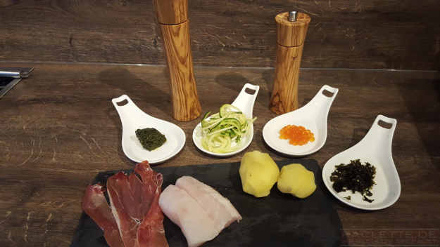 Rotbarsch-Pancetta-Zutaten