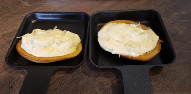Ricotta-Kartoffel-Pfaennchen