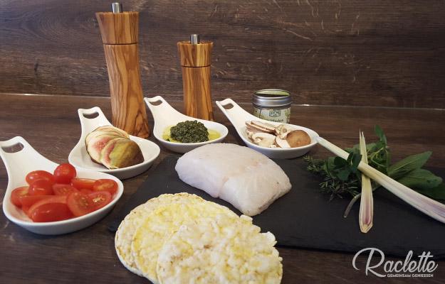 Ricotta-Kartoffel-Zutaten